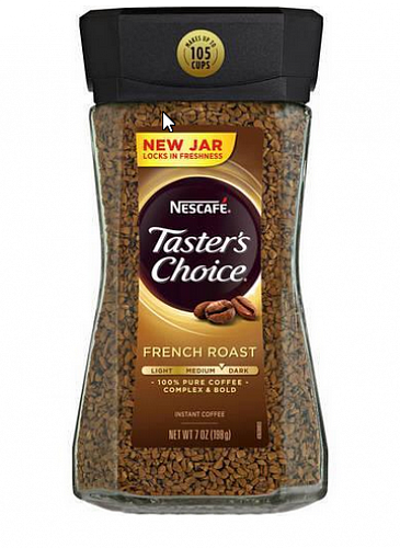 Nescafe Tasters Choice French Roast Кофе 198 грамм